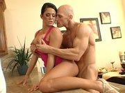 Pornstar Savannah Stern getting fucked by a stiff cock