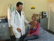 Kayla Synz asking the doctor to fuck her rectum hard