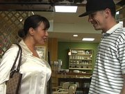Lucky guy picked up by the hot milf Ava Devine at the store