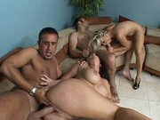 Jayden James and Robyn Truelove are getting slammed in a orgy