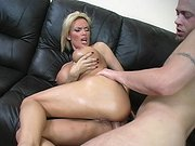 Busty chick Diamond Foxxx getting her ass slammed