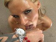 Hot slut Phoenix Marie receives nice facial cumshot