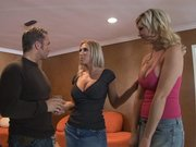 Pornstar Devon Lee introducing Tiffany Price to a guy