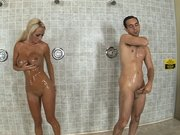 Lichelle Marie was showering after her workout routine
