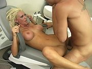 Busty hottie Tanya James getting her pussy screwed in the hospital