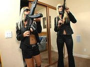 Babes in black Puma Swede and Nikki Benz must find an intergalactic terrorist