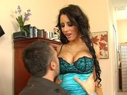 Mya Nichole gets her tits sucked and pussy licked