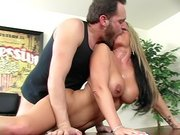 Busty mom Kristal Summers getting drilled doggy style