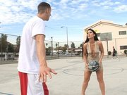 Luscious Lopez challenged him to play basketball 1-on-1