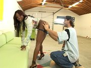 Jada Fire had her ass all oiled up and ready to get fucked