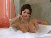 Gorgeous euro slut Aletta Ocean takes a bath