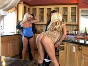 Tanya and Ahryan get very horny and agree on swapping husbands