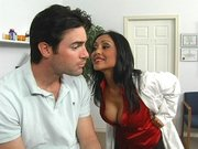 Sexy doctor Priya Rai seduces her patient