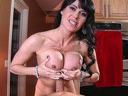 Eva Karera gets her big juicy tits fucked