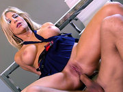 Tasha Reign having anal sex for the first time