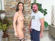 Alexis Rodriguez does a private dance for him