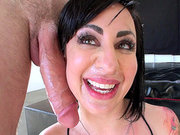 Dollie Darko happily takes a nice facial