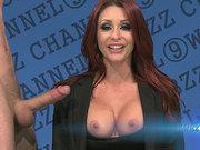 Monique Alexander having sex and sucking cock