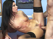 India Summer ordered him to fuck her cunt on her desk