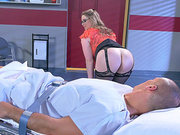 Doctor Sunny Lane wants to sit on her patient's face