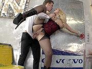 Busty Czech babe Angel Wicky getting her hot ass plowed