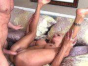 Nina Elle gets her pussy slammed in mish