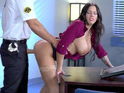 Lylith Lavey gets pounded by the night shift security guard