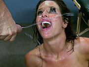Veronica Avluv gets her ass roughly fucked and receives monster load on her face