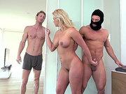 Hunky burglar breaks in and fucks curvy wife Phoenix Marie