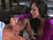 Ariella Ferrera loves to suck hard young dick