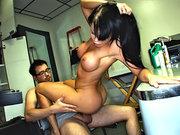 Nikki Delano loves to ride hard cock
